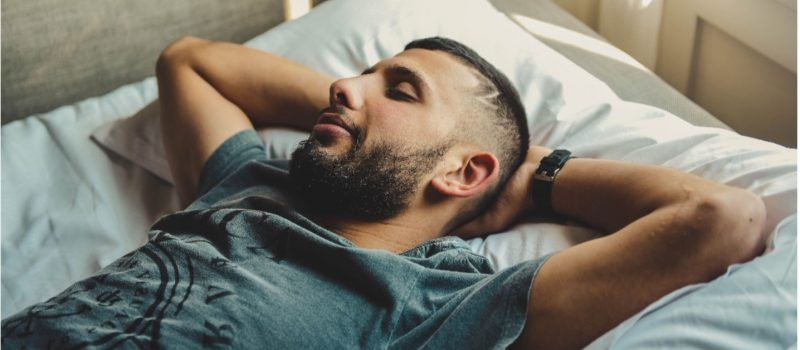 Image of man sleeping, The Important of Sleep blog